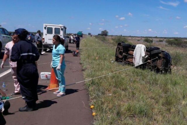 El funcionario Degiusti sufrió un grave accidente en Corrientes: fallecieron su esposa, su hijo y una amiga