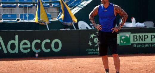 El ex tenista Chino Ríos utilizó una recordada frase de Maradona para responder a la prensa