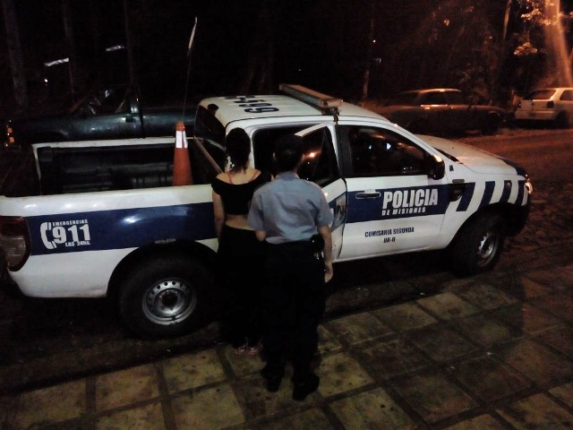 Joven se negó a cumplir una orden judicial y fue detenida en Oberá
