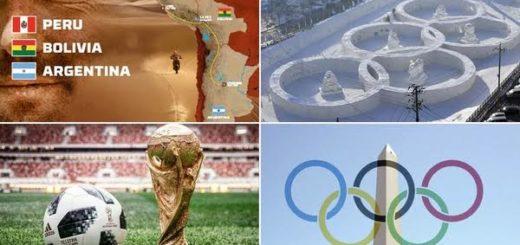 Se abre un año a puro deporte con el Mundial de Rusia como la máxima atracción