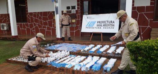 Contrabando: interceptan cargamento de telefonía celular en la costa de Iguazú