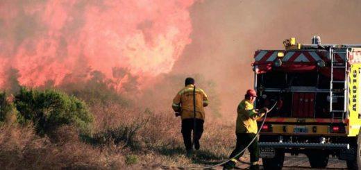 Incontrolable: el fuego ya consumió 230 mil hectáreas de Mendoza y La Pampa y se queman líneas eléctricas
