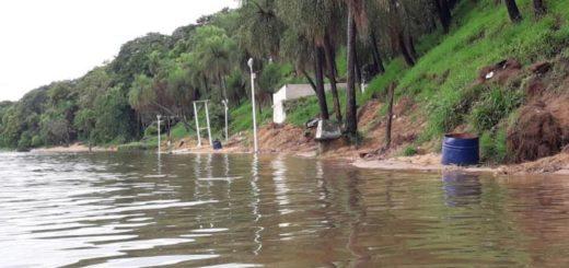 El Paraná superó los tres metros e Ituzaingó se quedó sin playas