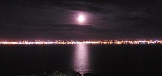 Las imágenes de la luna vista desde Misiones con una cámara especial