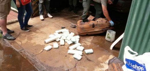 Había salido de Posadas con droga oculta en el tanque de nafta y lo descubrieron en Corrientes