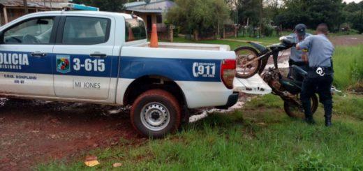 Sigue el combate al flagelo del robo de motos: otras dos máquinas recuperadas en Misiones