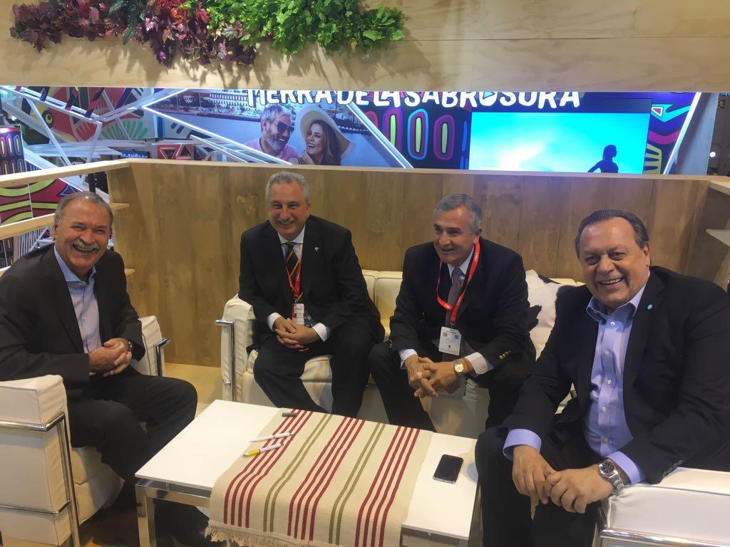 En Madrid, Passalacqua se reunió con los gobernadores Schiaretti y Morales