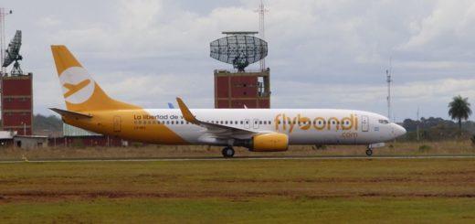 Iguazú recibirá este viernes el primer vuelo de FlyBondi