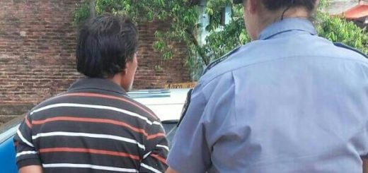 San Vicente: amenazó con un cuchillo a su ex, delante de los tres hijos de la mujer