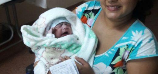 Sebastián, el primer bebé misionero de 2018 nació en Oberá