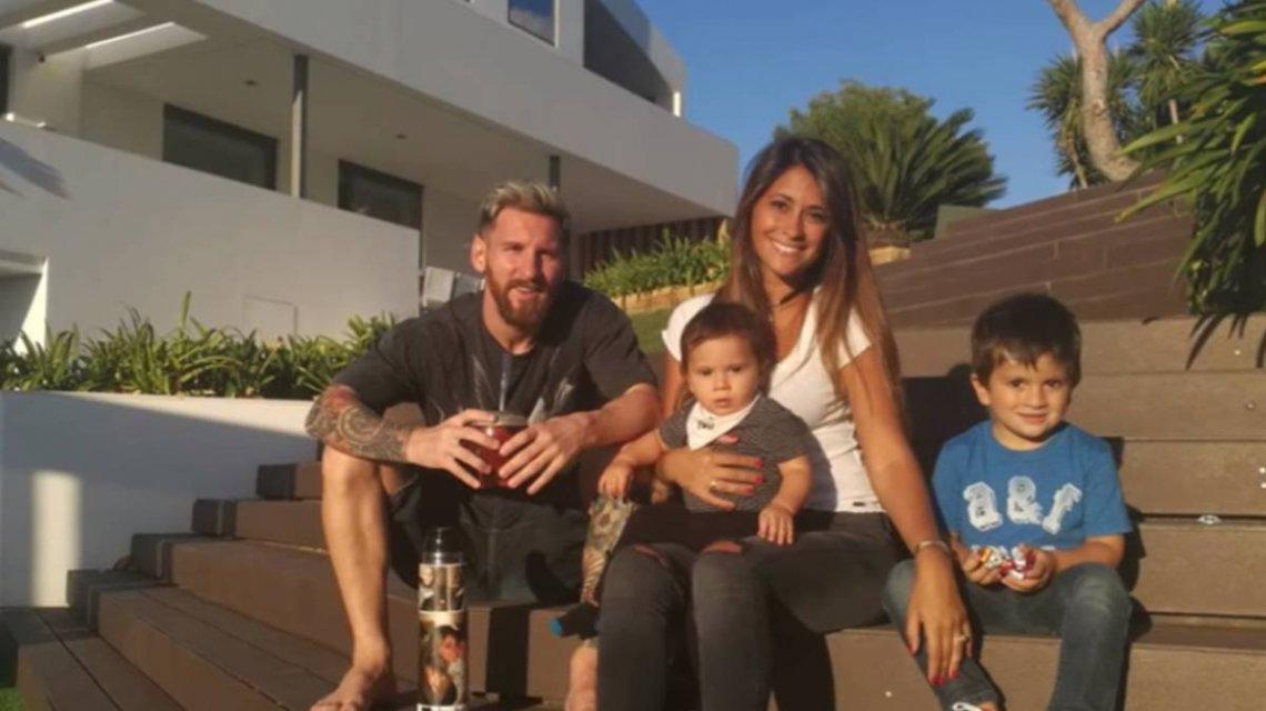 Messi reveló el nombre de su tercer hijo