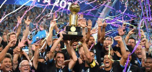 Gremio ganó Recopa: mirá cómo quedó la tabla histórica de títulos internacionales