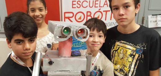 La Escuela de Robótica abrió las inscripciones para el ciclo 2018