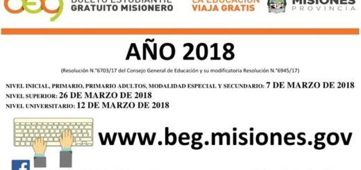 Boleto Estudiantil Gratuito: comienza a regir a partir de marzo y ya se puede realizar el formulario online