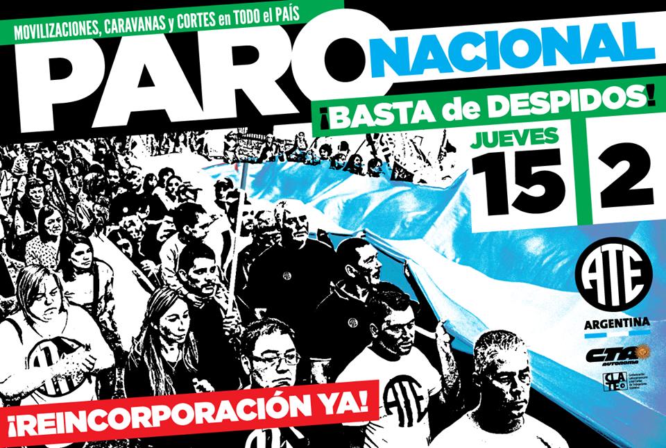 En Posadas también habrá marchas en el marco del paro Nacional de ATE