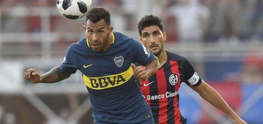 Superliga: a pesar de tener dos hombres más, Boca no pudo pasar del empate con San Lorenzo