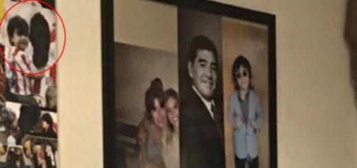 """El polémico detalle en la casa de Diego Maradona que refleja su enemistad con el """"Kun"""" Agüero"""