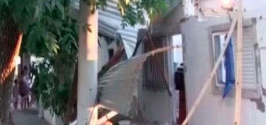 Un jubilado prendió el televisor y explotó su casa
