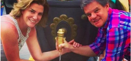 """Quique Sacco relató cómo fue su historia de amor con Débora Pérez Volpin: """"Nuestra primera cena fue mágica. Me enamoré desde ese primer encuentro"""""""