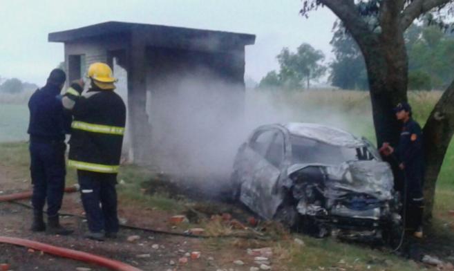 Una víctima fatal en un terrible accidente sobre ruta 12
