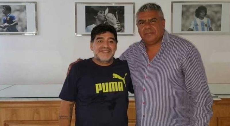 Diego Maradona afirmó que Jorge Sampaoli y Chiqui Tapia lo traicionaron