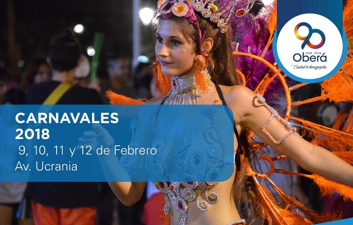 Oberá vivirá hoy su primera noche de Carnaval