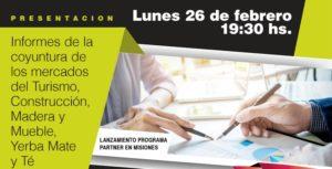 Nelson Pérez Alonso en Posadas: el presidente de la Consultora Claves presentará información para la competitividad de las empresas
