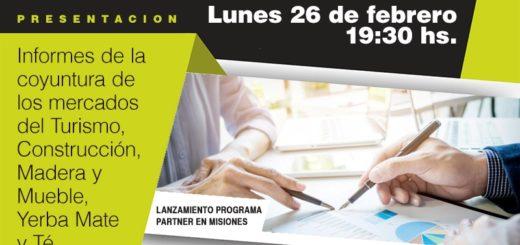 Nelson Pérez Alonso en Posadas: Presentará información para la competitividad de las empresas