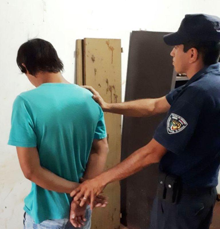 Una mujer activó el botón antipánico en Posadas y la Policía detuvo a su ex pareja