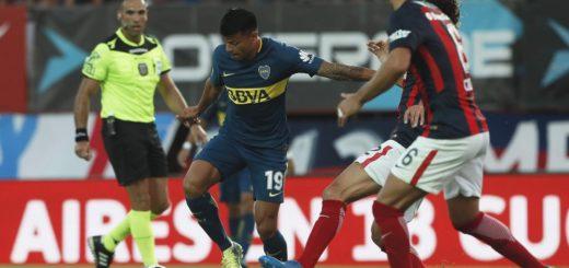 Superliga: Boca y San Lorenzo empatan en el Nuevo Gasómetro