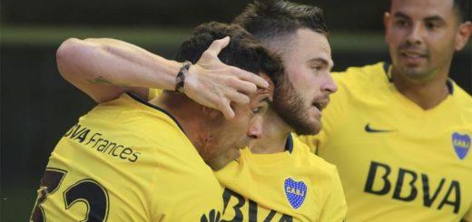 Imparable: Boca le ganó a San Martín de San Juan por 4 a 2