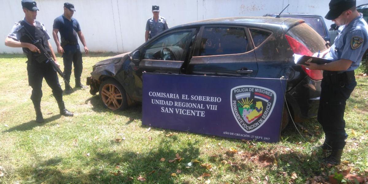 Frontera caliente: en dos operativos incautan en Misiones vehículos robados en Brasil
