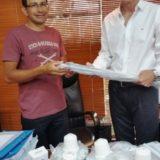 IPLyC SE entregó electrodomésticos a la Asociación Jardín de los Niños
