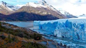 """Parques Nacionales desmintió versiones de """"ruptura inminente"""" del Glaciar Perito Moreno"""