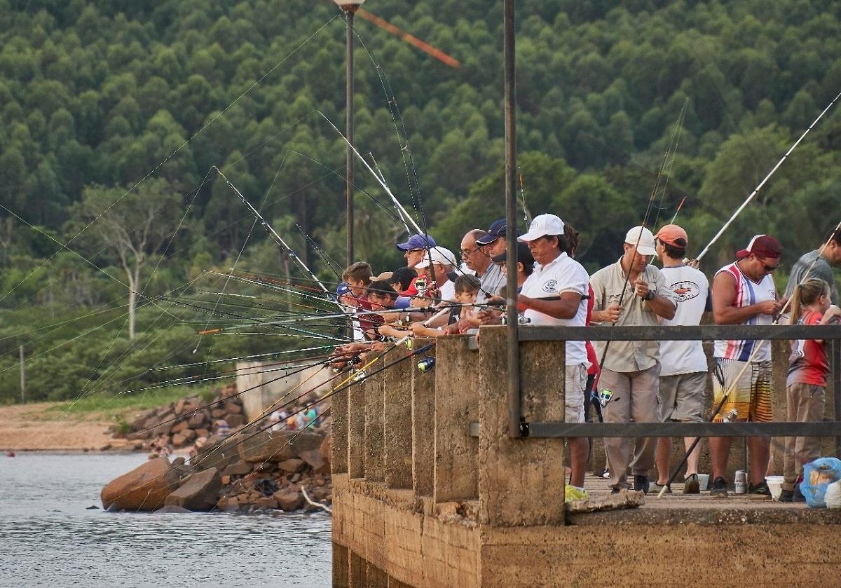 Con marcado éxito se desarrolló la primera fecha del Campeonato Provincial de Pesca