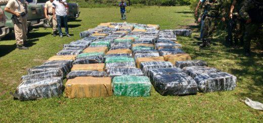 Frontera caliente: decomisan marihuana en Misiones, Formosa y Corrientes, donde incluso amenazaron a los prefecturianos