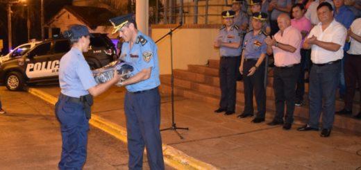 Policías de Iguazú recibieron uniformes y el Comando sumó un móvil para reforzar patrullajes en la ciudad