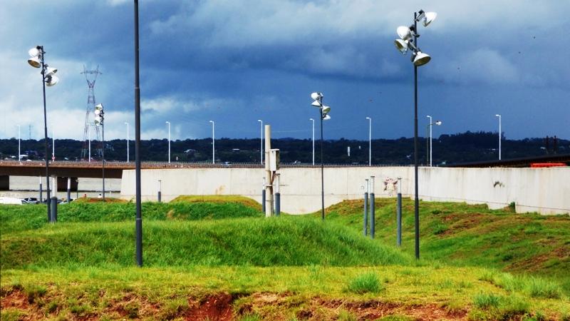 En marzo se inauguran las obras en el muro fronterizo de la cabecera del puente internacional que une Posadas y Encarnación