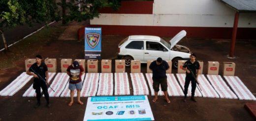 Contrabandistas fueron detenidos tras chocar un móvil policial luego de una persecución en Puerto Rico