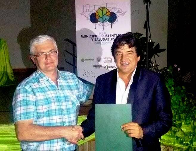 El intendente de Puerto Piray representará a Misiones en el concejo de la Red Argentina de Municipios contra el Cambio Climático