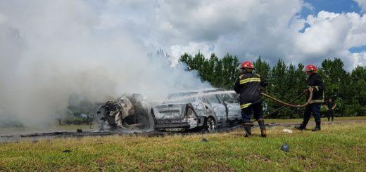 Fachinal: identificaron a los diez muertos del trágico accidente entre un auto y una camioneta