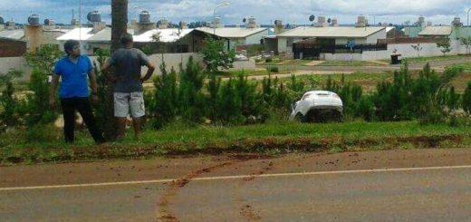 Despiste con lesiones en el acceso a Itaembé Guazú
