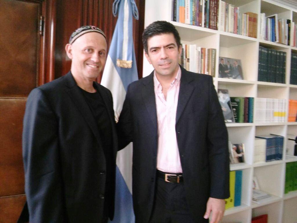 El ministro de Ecología Bergman recibió a su par misionero Juan Manuel Díaz