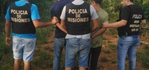 Acusados de golpear y asaltar a un vecino, atraparon en San Vicente a los buscados Chupetón y Caracha