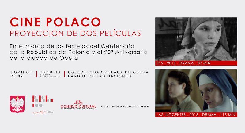 Continúa el calendario cultural en la Colectividad Polaca con Cine Polaco en Oberá