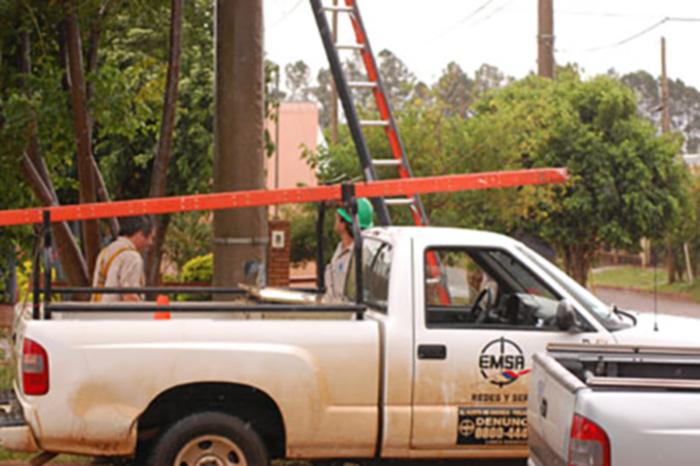 Aristóbulo del Valle: por trabajos de reparación, el suministro de energía se interrumpirá en horas del mediodía