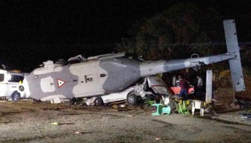 México: luego del terremoto cayó un helicóptero de rescate y dejó 13 muertos, entre ellos 3 niños