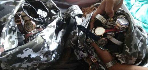 Punta del Este: policías recuperaron un millonario botín y fueron premiados con relojes y un auto