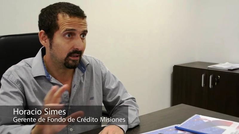 """""""En un año aprobamos financiación por más de 100 millones de pesos"""", aseguró Horacio Simes"""