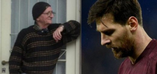 Triste momento para Lionel Messi: murió su abuelo materno en Rosario